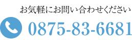 TEL:0875-83-6681